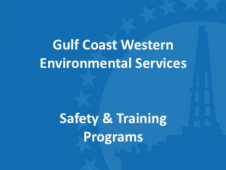 Gulf Coast Western Safety Training