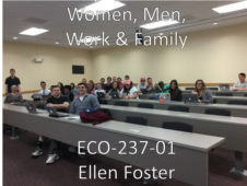 Union College ECO-237-01 Women, Men, Work & Family. Spring 2017