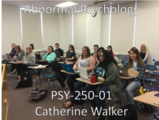 Union College PSY-250-01 Abnormal Psychology. Spring 2017